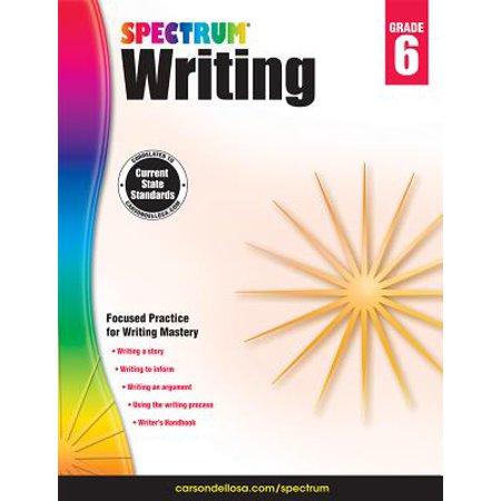 Spectrum Writing, Grade 6