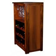Wine Cabinet in Wood Grain Finish