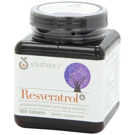 (Youtheory Resveratrol Advanced, 160 Ct)
