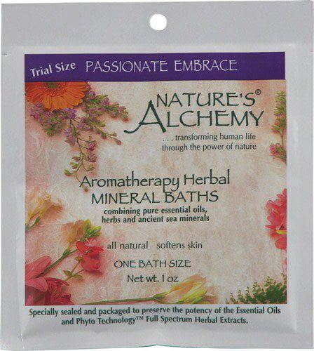 Mineral Bath-Passionate Nature's Alchemy 1 oz Salt