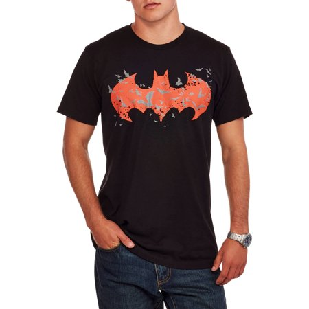 6235522a DC - Batman Men's Glow In The Dark Logo Graphic T-Shirt, up to Size 3XL -  Walmart.com