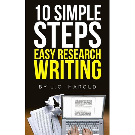 10 Simple Steps: Easy Research Writing - eBook
