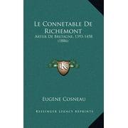 Le Connetable de Richemont : Artur de Bretagne, 1393-1458 (1886)