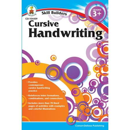 Skill Builders (Carson-Dellosa): Cursive Handwriting, Grades 3+ (Paperback)