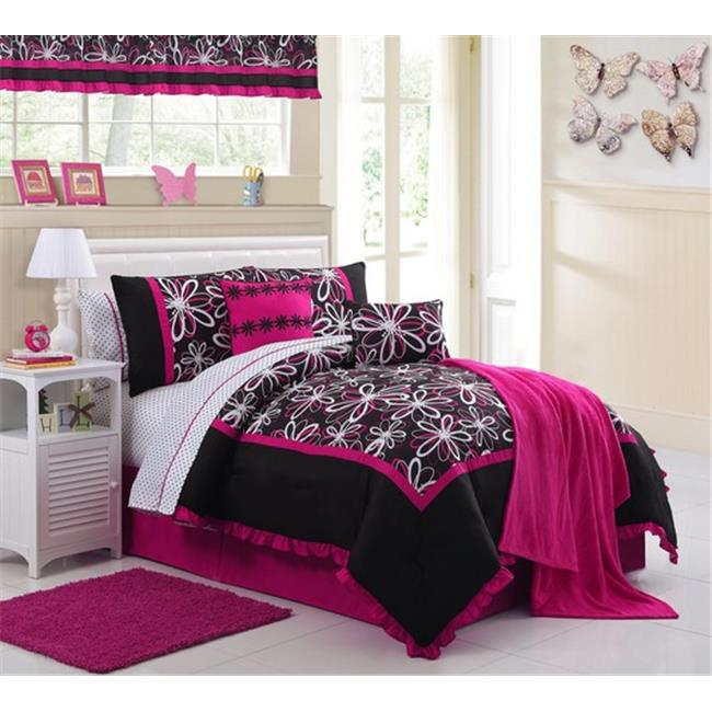 Luxury Home Rebecca Comforter Set, Twin