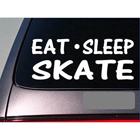 Eat Sleep Skate Sticker *H005* 8