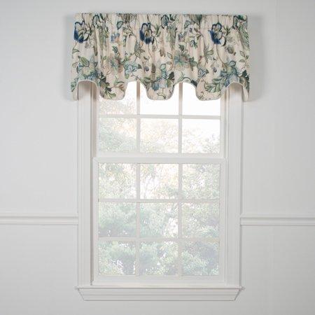 Triple Scallop - Ellis Curtain Brissac Lined Scallop Valance