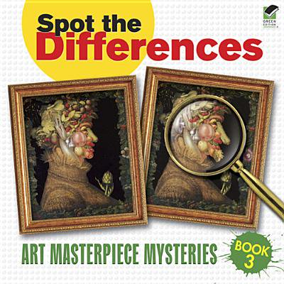 Spot the Differences Book 3 : Art Masterpiece