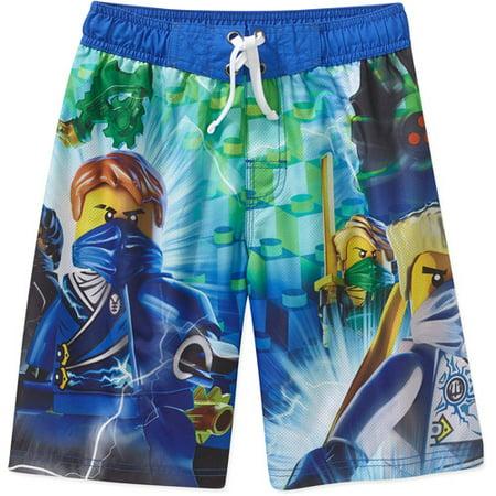 f0131eefae LEGO - Ninjago Boys Swim Shorts - Walmart.com