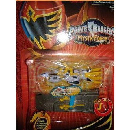 Mystic Force - Mystic Cycle Blasters - Yellow, Power up for cool launching action! By Power