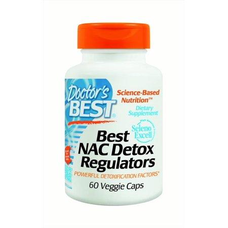 Doctor's Best NAC Detox Regulators, 60 Ct