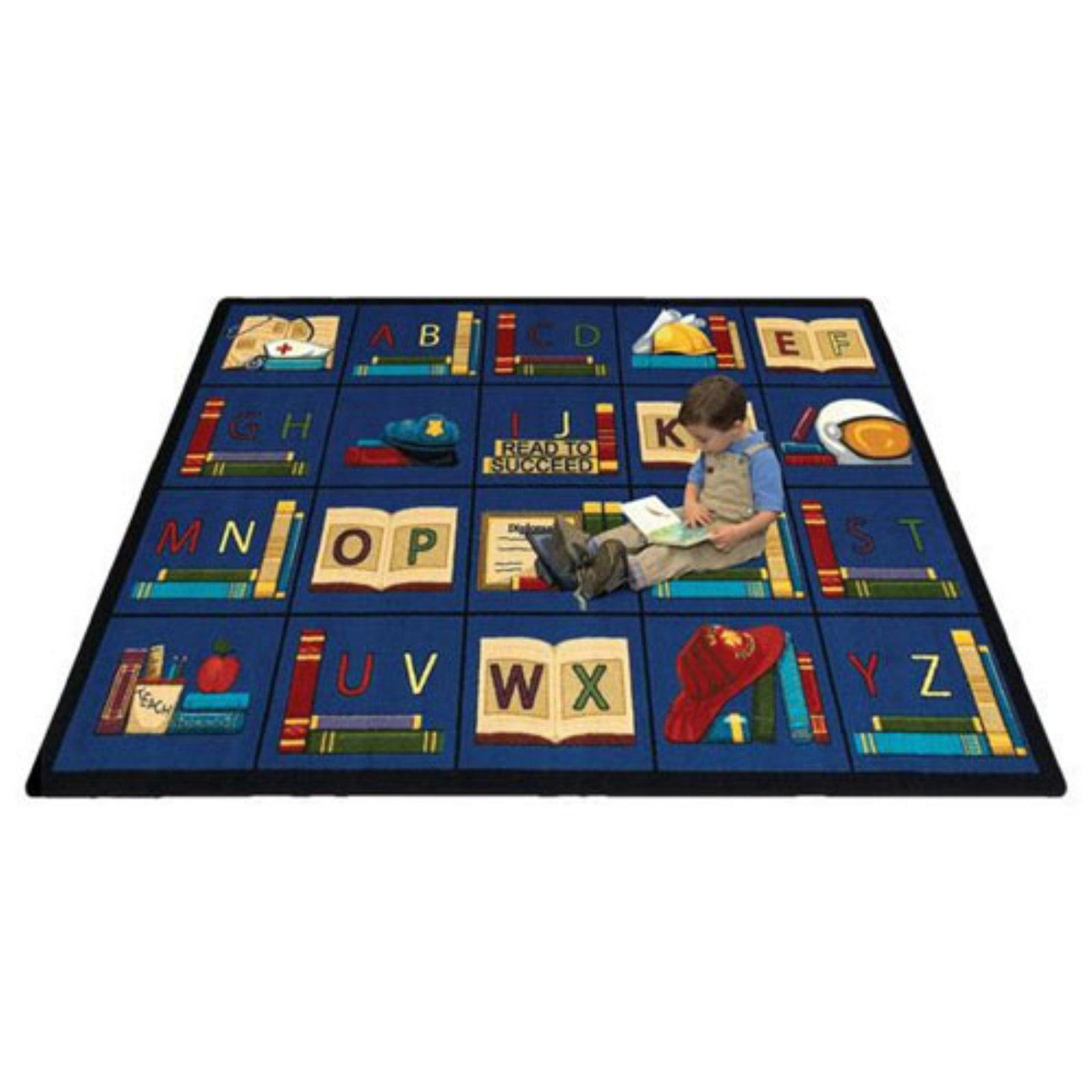 Joy Carpets Sit & Read Kids Area Rug
