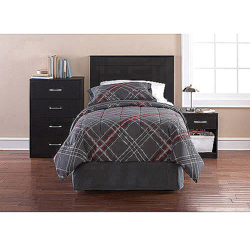 Mainstays 3-Piece Twin Bedroom in a Box, Multiple Colors