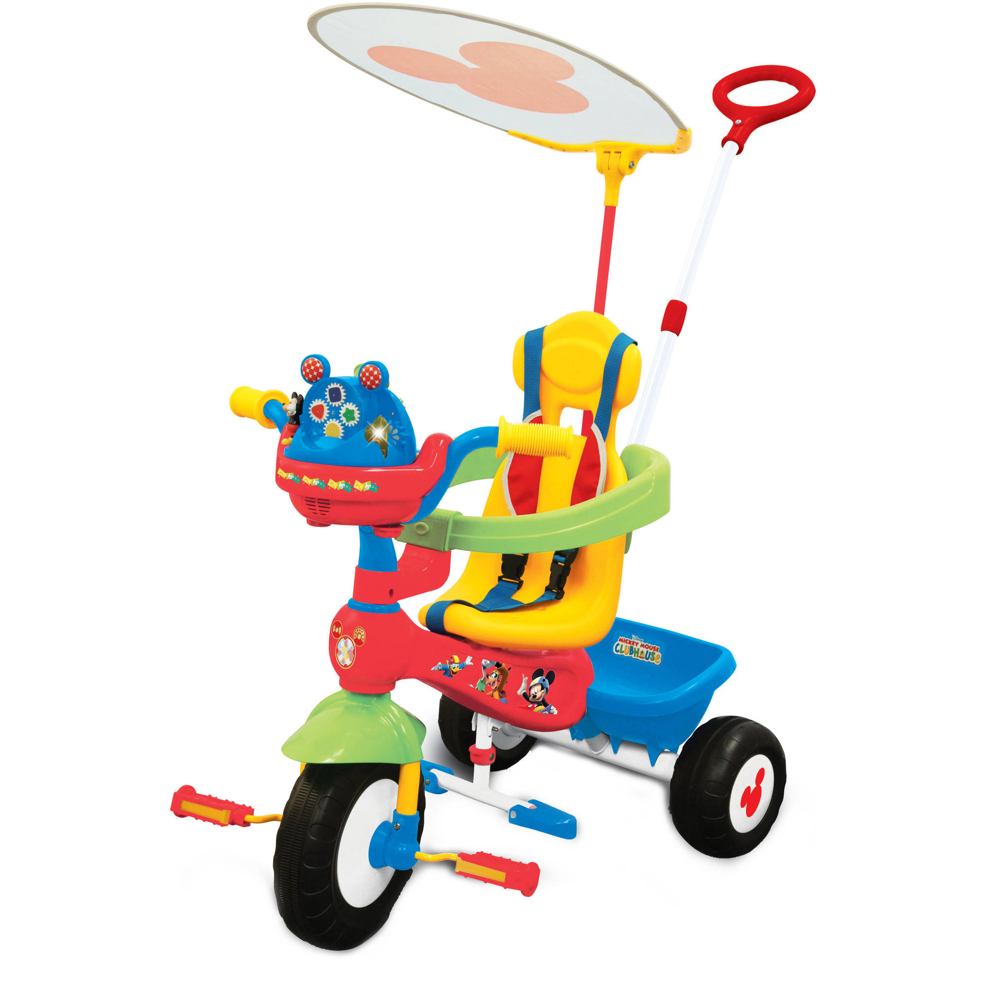 Kidland Disney Mickey Mouse Clubhouse Push N Ride Trike Com