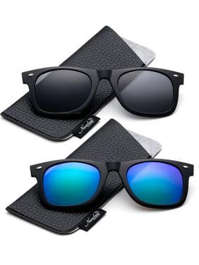 7232acaa19e Product Image Newbee Fashion - Polarized Clip-On Flip Up Metal Clip  Sunglasses Multi Purpose Flash Polarized