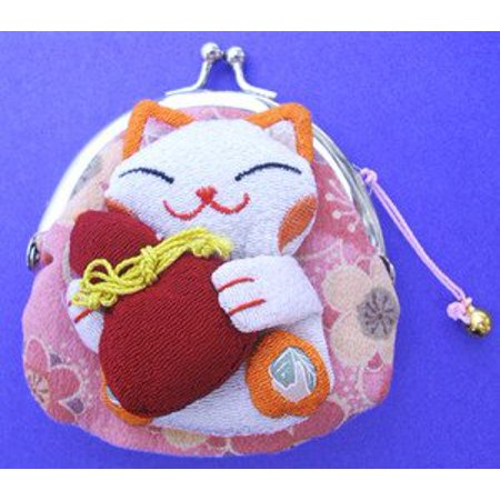 - Japanese Maneki Neko Fortune Cat Lucky Cat Gold Battery Operated Also Solar Powered with Waving Arm, 5-Inches, Display it in your living room.., By M.V. Trading