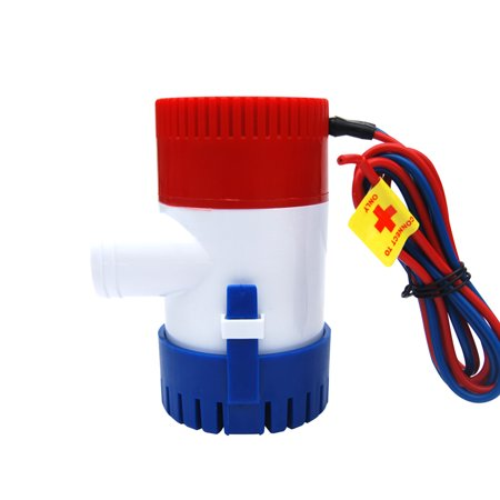 24v Pump - Bilge Pump 350 500 750 1100GPH DC 12V 24V Electric Water Pump For Aquario Submersible Seaplane Motor Homes Houseboat Boats