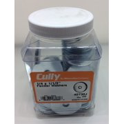 Cully 40730J 1/4X1-1/2 ZP FENDER Washer (100-Pack)