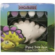 Paint Your Own Dinosaurus-steggy