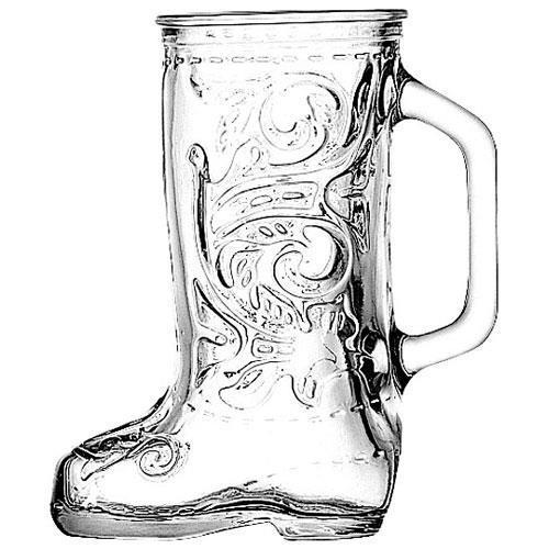 Anchor Hocking Boot Beer Mug Case of 24 by