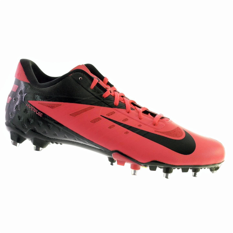 Nike VAPOR PRO LOW TD Mens Football Shoes Pink Black 13 M