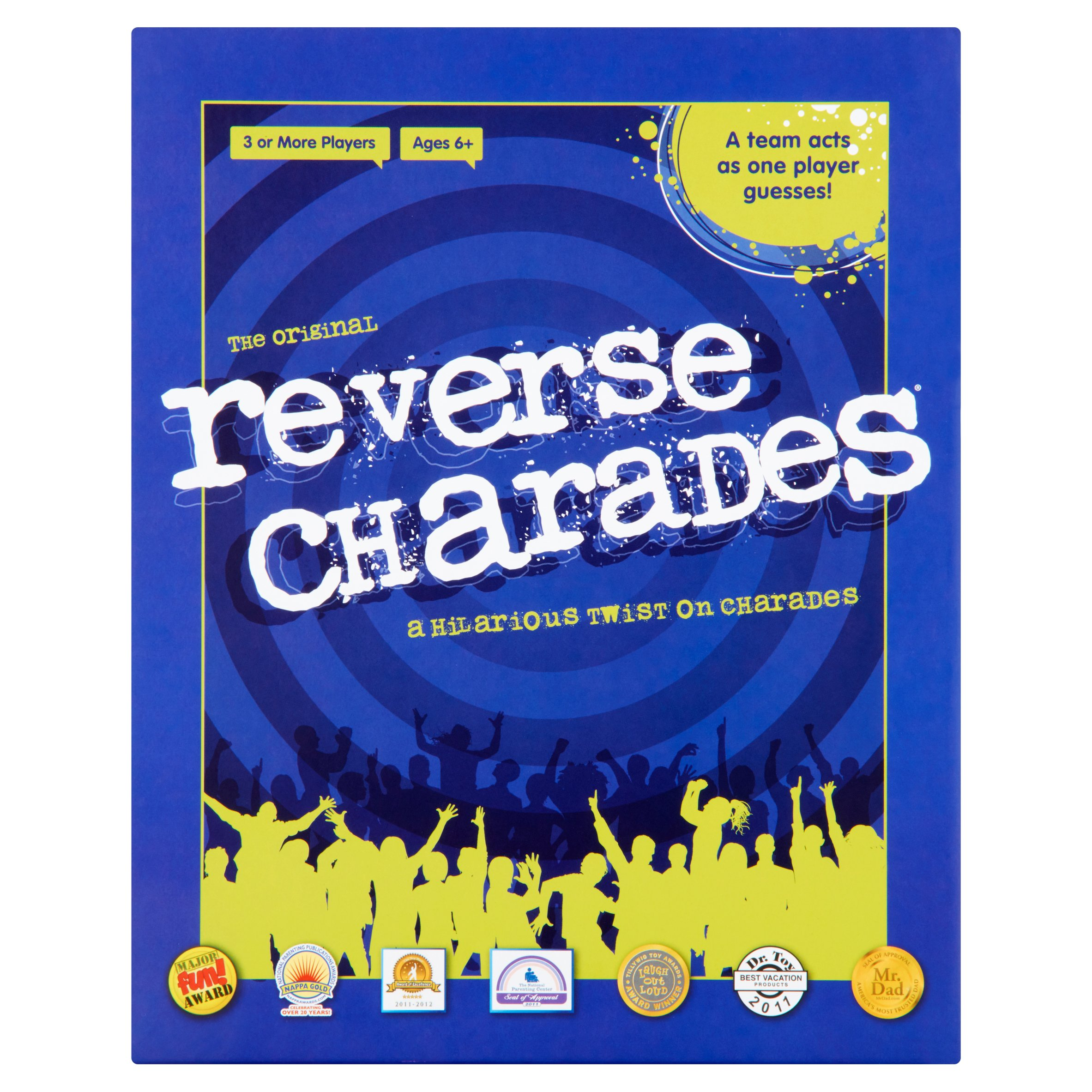 the original reverse charades game ages 6+ - walmart