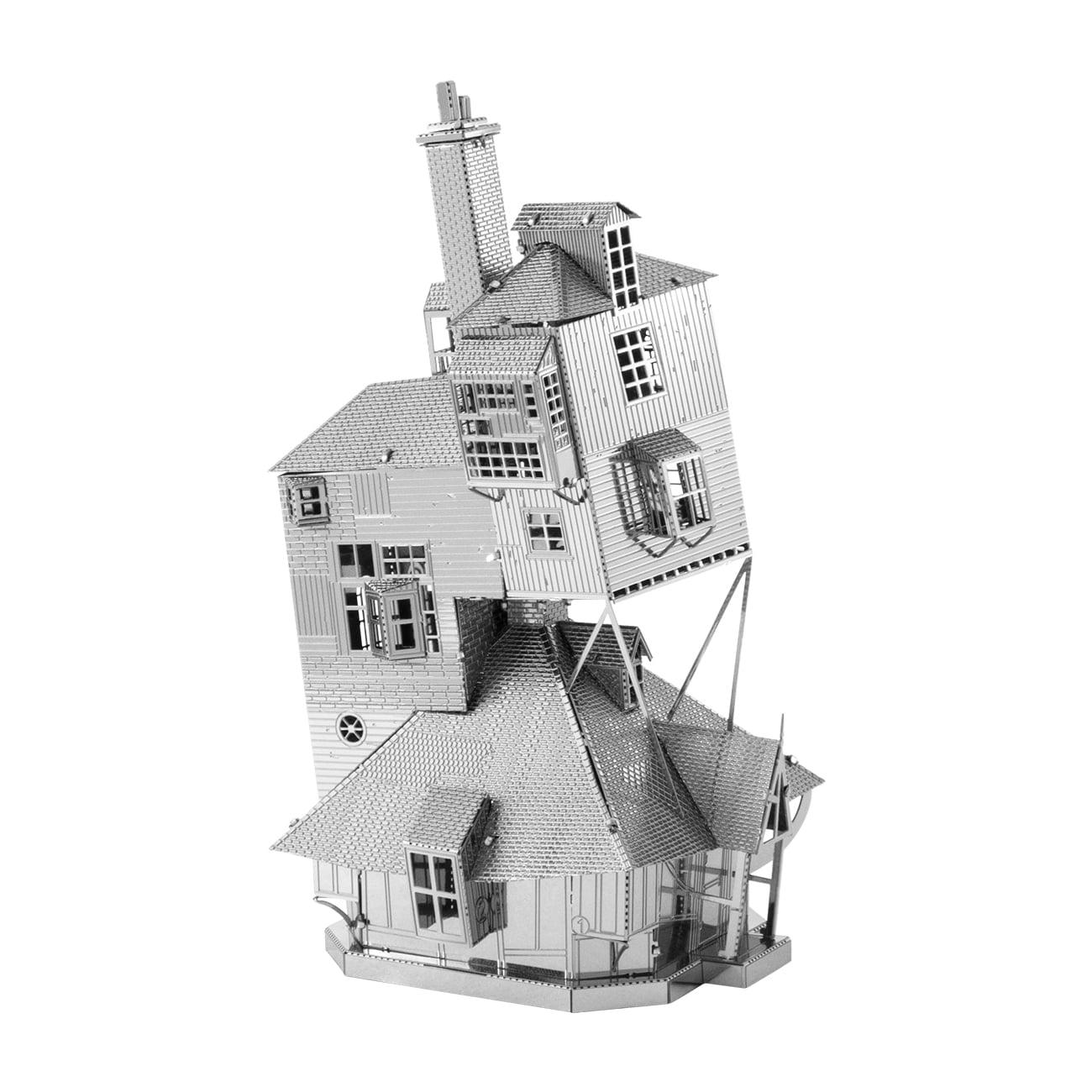 The Burrow Weasley Family Home Fascinations Metal Earth 3D Metal Model Kit