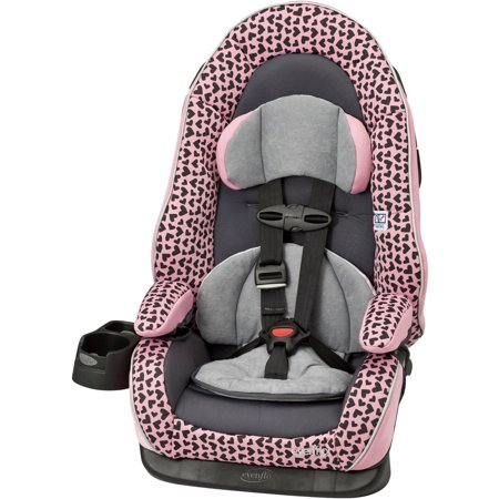 evenflo chase lx harness booster car seat pink. Black Bedroom Furniture Sets. Home Design Ideas