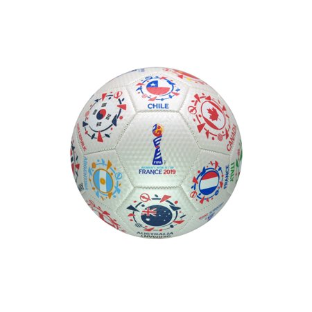 FIFA Women's World Cup France 2019 Official Licensed Soccer Ball - Size (Official Sports Soccer Referee)