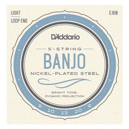 Strings, Banjo 5-string Light