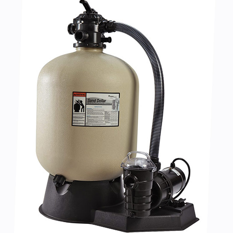 Pentair 22.5 Inch Sand Dollar Above Ground Pool Sand Filter System - 145322