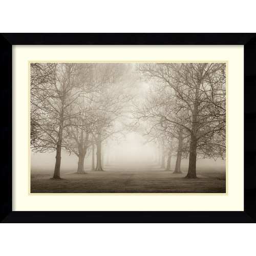 Amanti Art 'Large Layers of Trees II' by Igor Svibilsky Framed Photographic Print