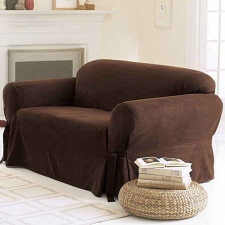 Fabulous Sure Fit Soft Suede Sofa Cover Squirreltailoven Fun Painted Chair Ideas Images Squirreltailovenorg