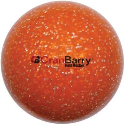 CranBarry Glitter Practice Field Hockey Ball, Orange