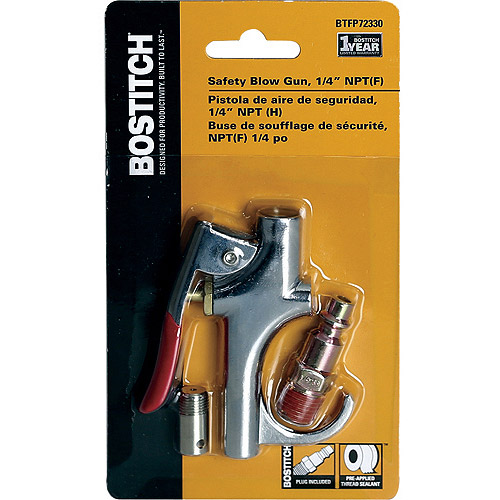 BOSTITCH BTFP72330 1/4-Inch Air Compressor Blowgun