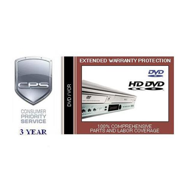 Consumer Priority Service VCD3-3000 3 Year DVD-VCR under $3 000.00