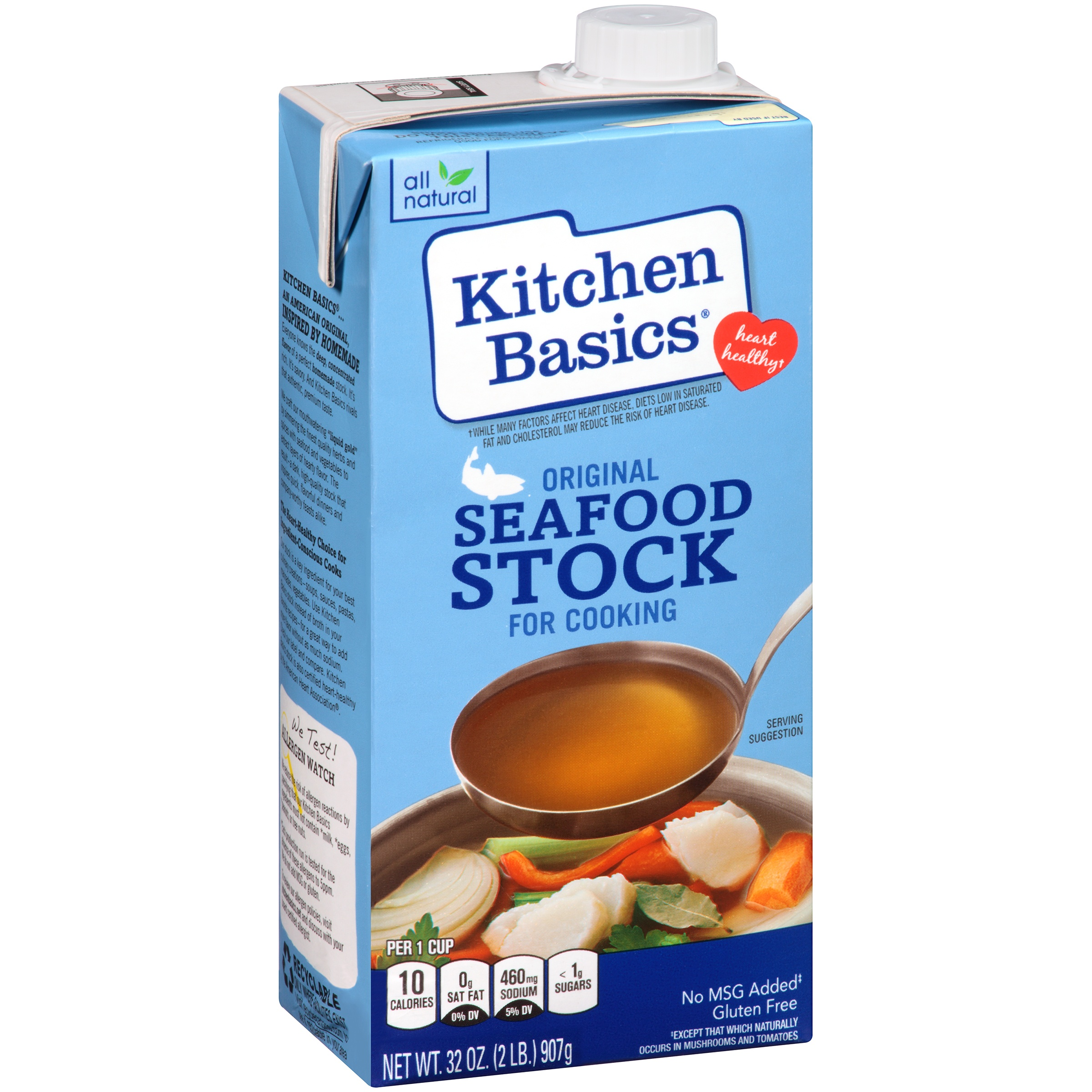 Kitchen Basics® Original Seafood Stock, 32 OZ