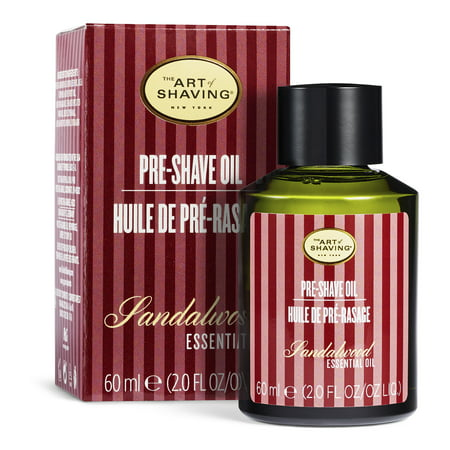 The Art of Shaving Men's Sandalwood Pre-Shave Oil, 2 fl oz