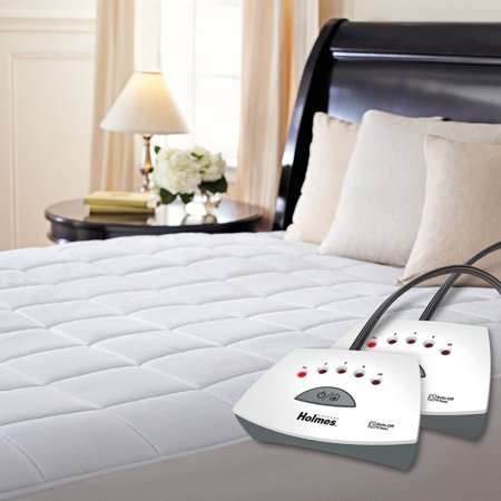 Holmes Quilted Heated Mattress Pad  King