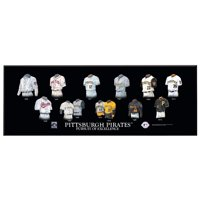Pittsburgh Pirates 8'' x 24'' Uniform Evolution Plaque