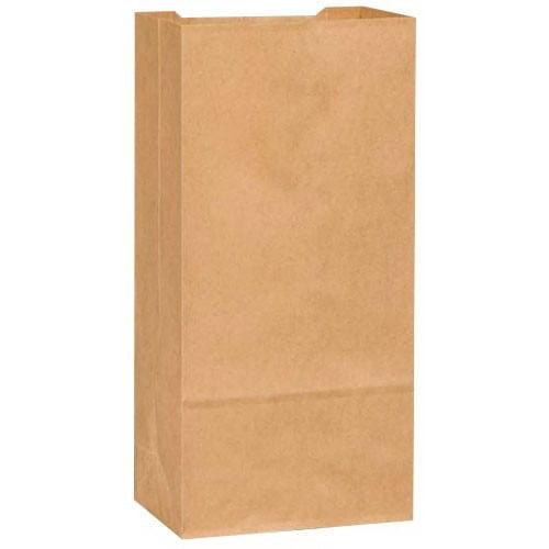 Novolex Duro Tiger Flat Bottom Paper Grocery Bag Kraft, 25 lb.   500/Pack