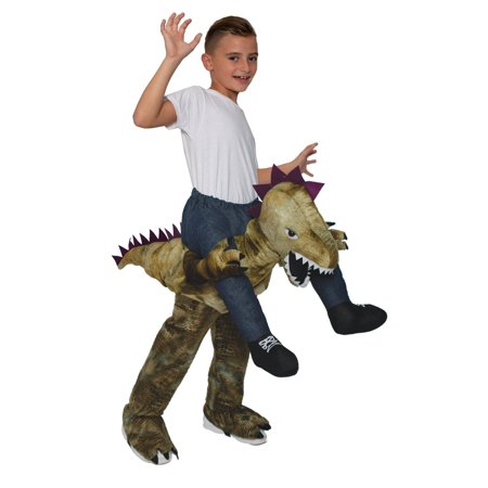 Kids On Halloween Costumes (Halloween Ride On - Dinosaur Child)