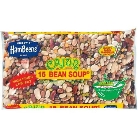 Ancient Roman Beads ((4 Pack) Hurst Hambeens 15 Bean Soup, Cajun, 20 oz)