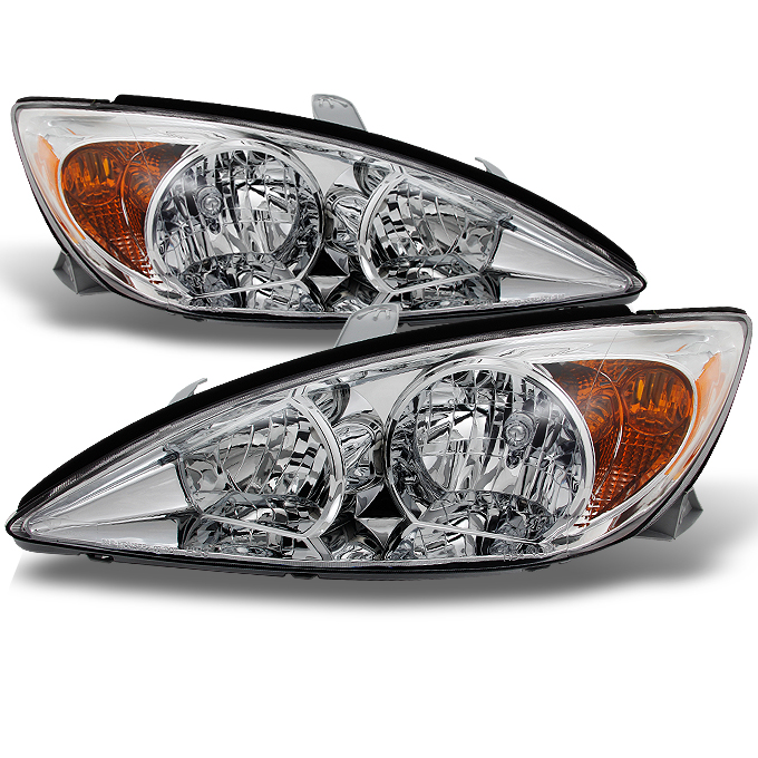 2002-2004 Camry LE | SE | XLE Headlights Replacement Left + Right Pair 02 03 04