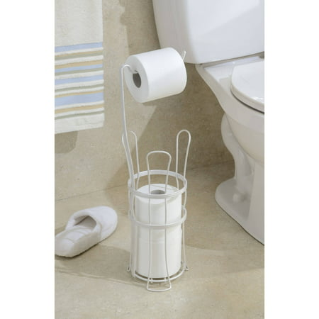 Interdesign York Lyra Free Standing Toilet Paper Roll