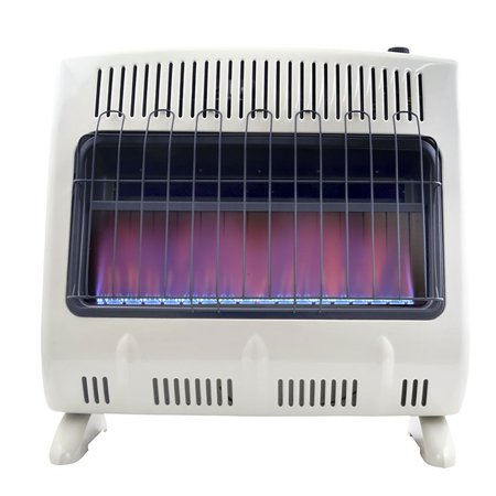 30000 Natural - Mr Heater 30000 BTU Vent Free Blue Flame Natural Gas Wall or Floor Indoor Heater