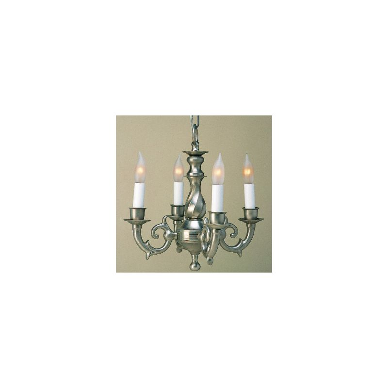 JVI 914 13 inch Up Lighting Chandelier Pewter Indoor Lighting