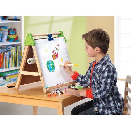 discovery kids wooden 3 in 1 tabletop easel. Black Bedroom Furniture Sets. Home Design Ideas