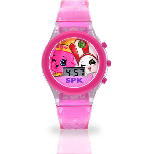 Shopkins Watch with Light Up Watch Band