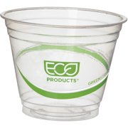 Eco-Products, ECOEPCC9SGS, GreenStripe Cold Cups, 1000 / Carton, Clear